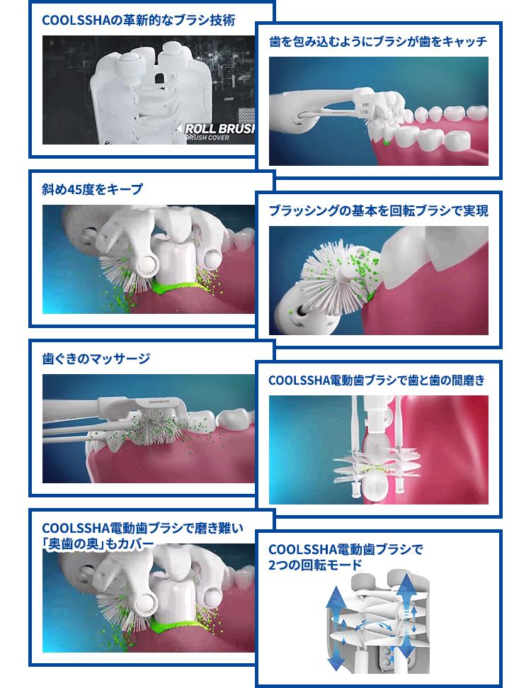 電動歯ブラシ COOLSSHA